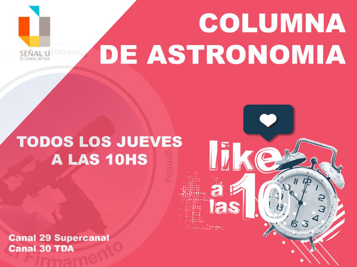 Columna Astronomica por TV