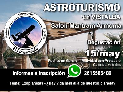Astroturismo Vistalba