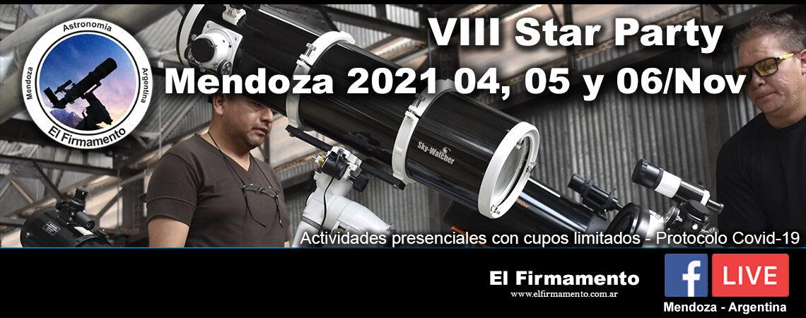 VIII Star Party Mendoza 2021