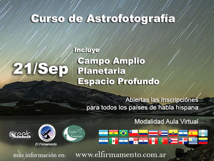 Curso de Astrofotografia