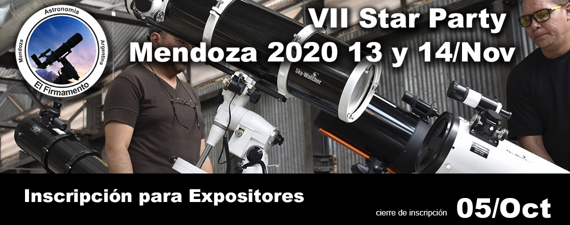 VII Star Party Mendoza 2020
